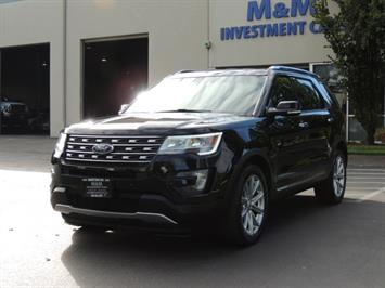 2016 Ford Explorer Limited / 4WD/ THIRD SEAT / NAVIGATION SUV