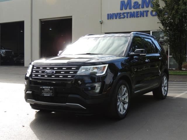 2016 Ford Explorer Limited 4wd Third Seat Navigation Photo 1 Portland