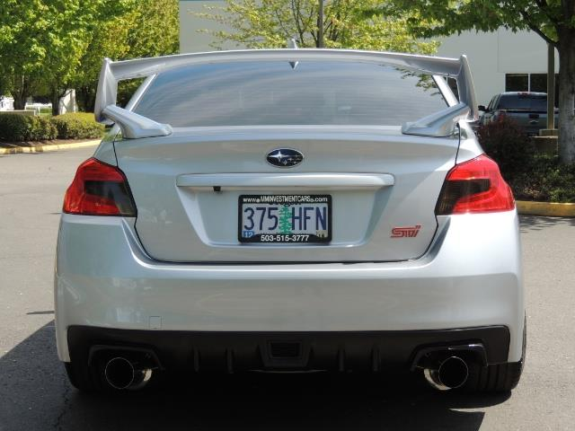 2015 Subaru WRX STI / AWD/ Turbo / Backup Cam/ Exhaust /  Wheels - Photo 6 - Portland, OR 97217