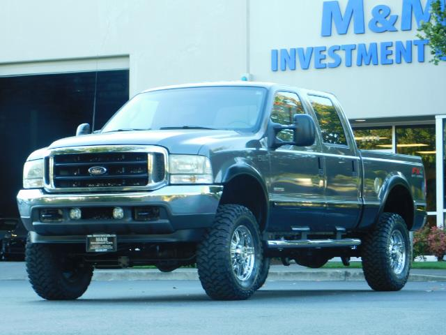 2003 Ford F-250 Lariat / 4X4 / 7.3L DIESEL / FX-4 / LIFTED LIFTED - Photo 47 - Portland, OR 97217