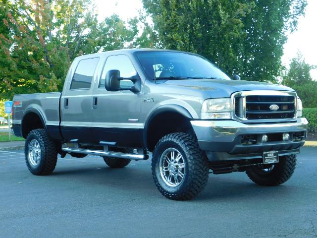 2003 Ford F-250 Lariat / 4X4 / 7.3L DIESEL / FX-4 / LIFTED LIFTED - Photo 2 - Portland, OR 97217