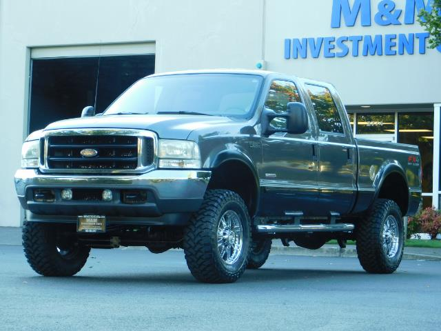2003 Ford F-250 Lariat / 4X4 / 7.3L DIESEL / FX-4 / LIFTED LIFTED - Photo 45 - Portland, OR 97217