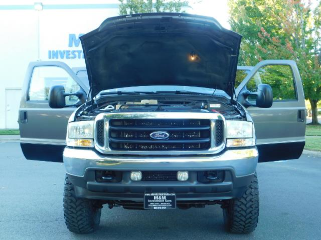 2003 Ford F-250 Lariat / 4X4 / 7.3L DIESEL / FX-4 / LIFTED LIFTED - Photo 30 - Portland, OR 97217