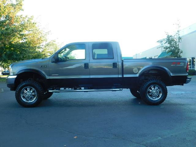 2003 Ford F-250 Lariat / 4X4 / 7.3L DIESEL / FX-4 / LIFTED LIFTED - Photo 3 - Portland, OR 97217