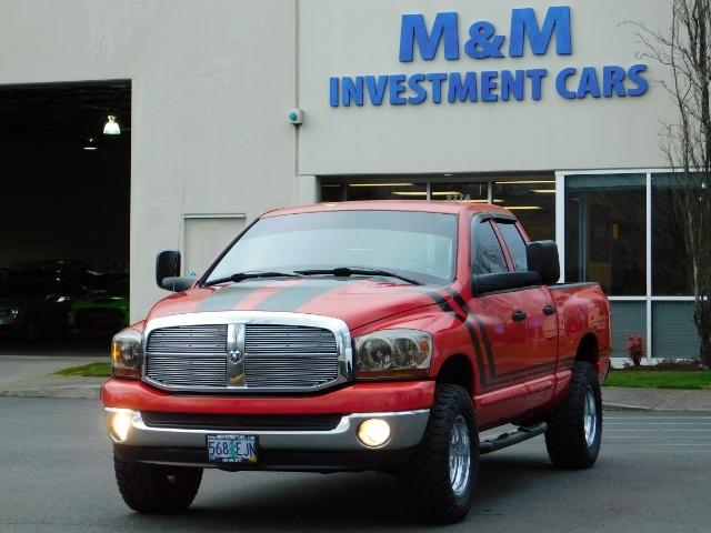 2006 Dodge Ram 1500 SLT SLT 4dr Quad Cab / 4X4 / 5.7L HEMI / Excel Con - Photo 41 - Portland, OR 97217