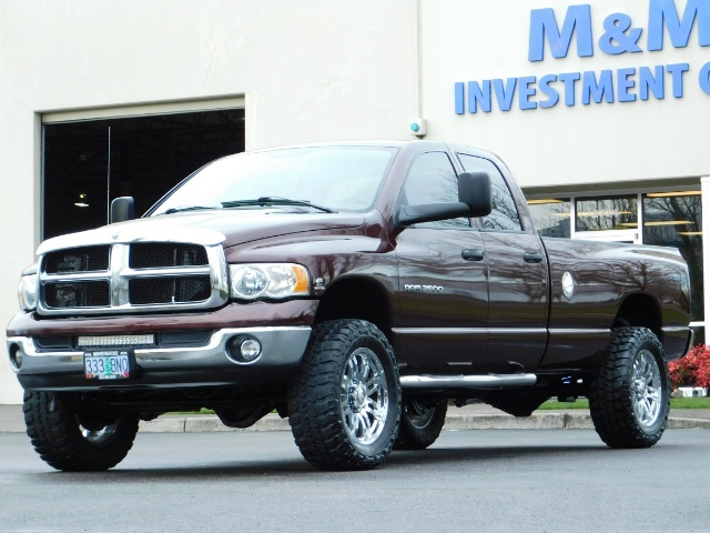 2005 Dodge Ram 2500 SLT 4X4 / Diesel 5.9L Cummins / Nav / 1-OWNER LIFT - Photo 39 - Portland, OR 97217