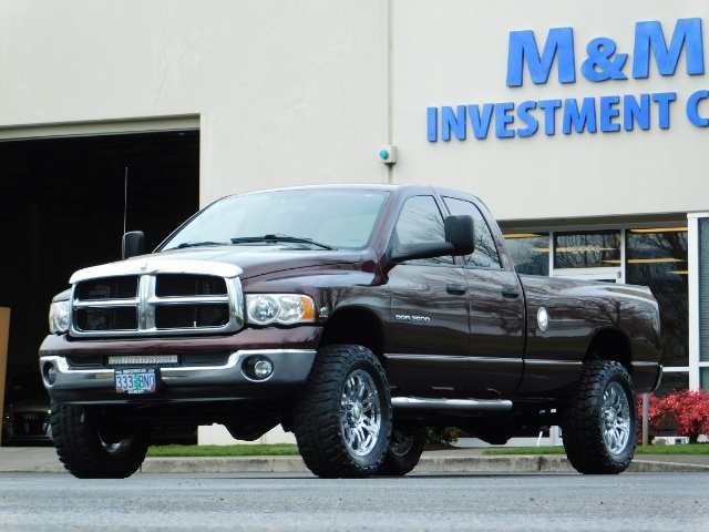 2005 Dodge Ram 2500 SLT 4X4 / Diesel 5.9L Cummins / Nav / 1-OWNER LIFT - Photo 46 - Portland, OR 97217