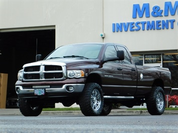 2005 Dodge Ram 2500 SLT 4X4 / Diesel 5.9L Cummins / Nav / 1-OWNER LIFT Truck