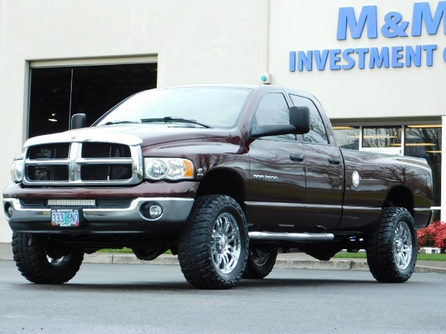2005 Dodge Ram 2500 SLT 4X4 / Diesel 5.9L Cummins / Nav / 1-OWNER LIFT - Photo 41 - Portland, OR 97217