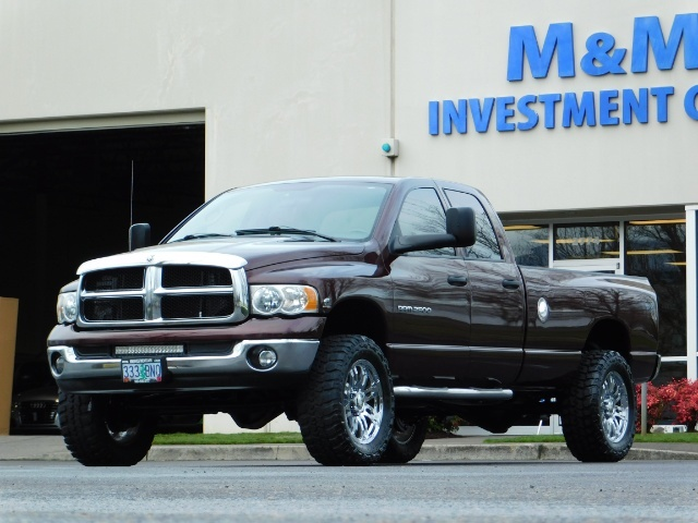2005 Dodge Ram 2500 SLT 4X4 / Diesel 5.9L Cummins / Nav / 1-OWNER LIFT - Photo 45 - Portland, OR 97217