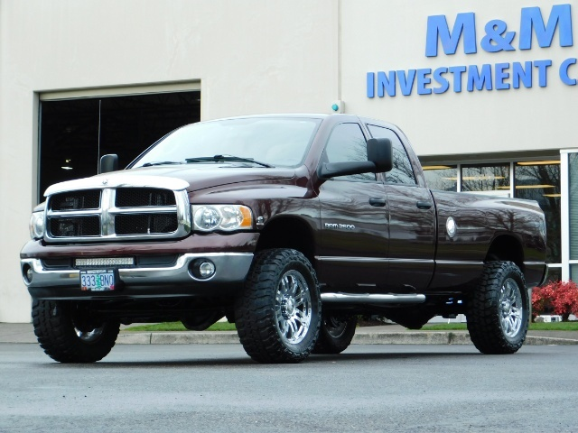 2005 Dodge Ram 2500 SLT 4X4 / Diesel 5.9L Cummins / Nav / 1-OWNER LIFT - Photo 44 - Portland, OR 97217
