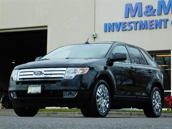 2009 Ford Edge Limited / AWD / NAVi / PANO ROOF / HEATED LEATHER SUV