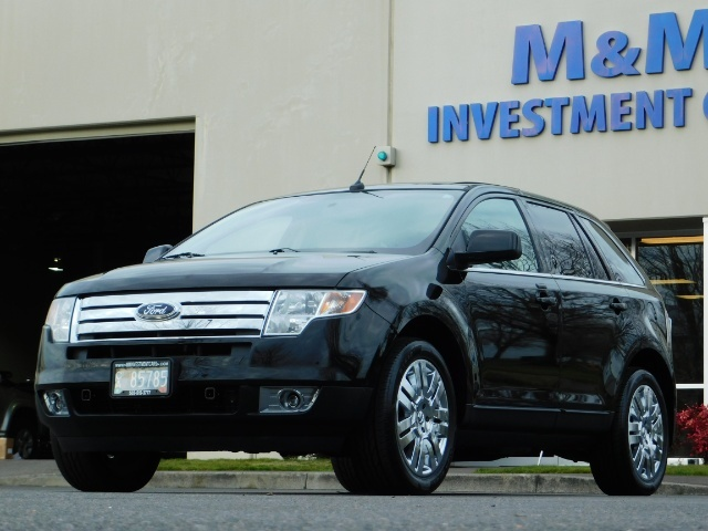 2009 Ford Edge Limited / AWD / NAVi / PANO ROOF / HEATED LEATHER - Photo 43 - Portland, OR 97217