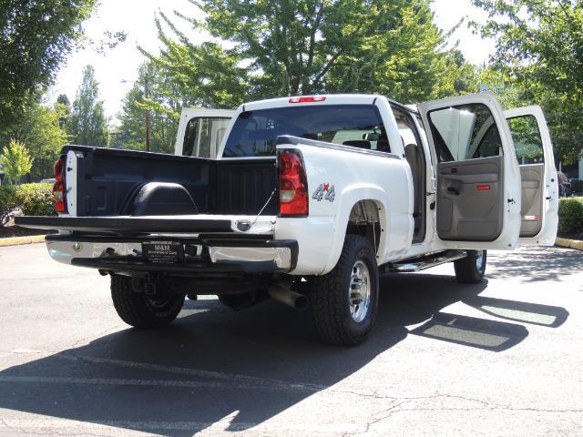 2007 Chevrolet Silverado 2500 LT / 4X4 / 6.6L DURAMAX DIESEL / 1-OWNER - Photo 29 - Portland, OR 97217