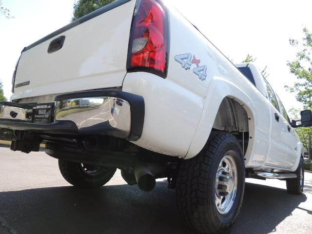 2007 Chevrolet Silverado 2500 LT / 4X4 / 6.6L DURAMAX DIESEL / 1-OWNER - Photo 12 - Portland, OR 97217