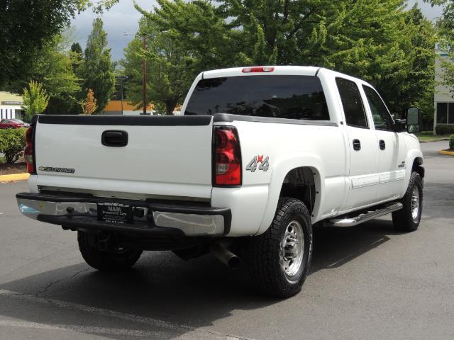 2007 Chevrolet Silverado 2500 LT / 4X4 / 6.6L DURAMAX DIESEL / 1-OWNER - Photo 8 - Portland, OR 97217