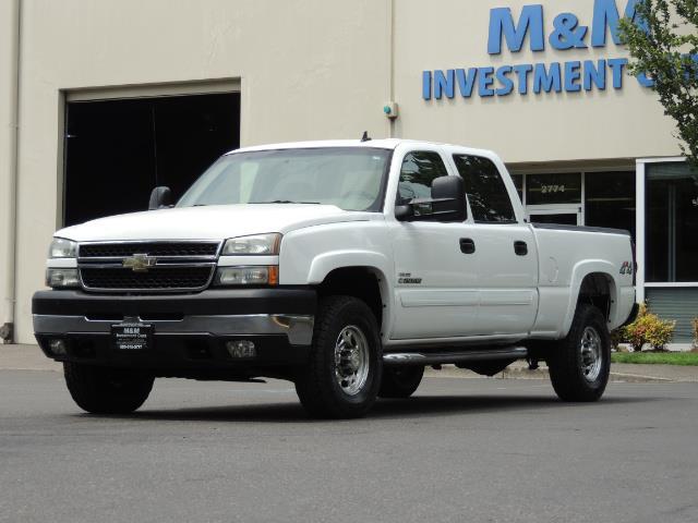 2007 Chevrolet Silverado 2500 LT / 4X4 / 6.6L DURAMAX DIESEL / 1-OWNER - Photo 42 - Portland, OR 97217