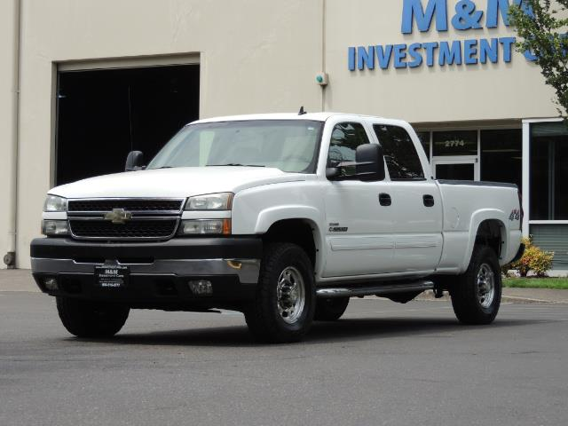 2007 Chevrolet Silverado 2500 LT / 4X4 / 6.6L DURAMAX DIESEL / 1-OWNER - Photo 43 - Portland, OR 97217