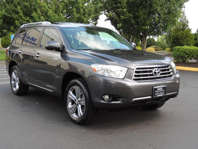 2008 Toyota Highlander Limited Awd Third Seat Navigation Loaded Photo 2