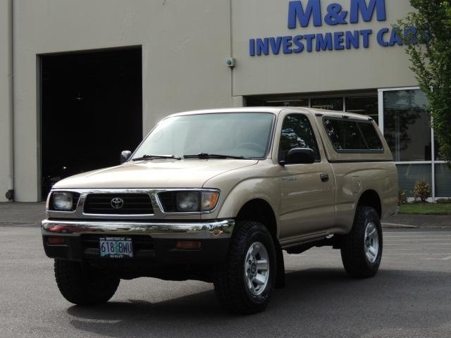 1995 toyota tacoma 4x4 5 speed manual 4cyl rh mminvestmentcars com 1999 Toyota Truck 1996 Toyota Truck
