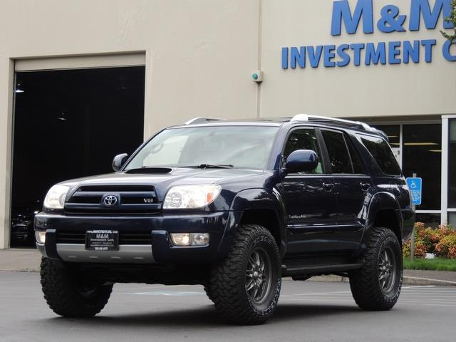 Toyota Runner Sport Edition WD Cyl LIFTED LIFTED - 2005 4runner