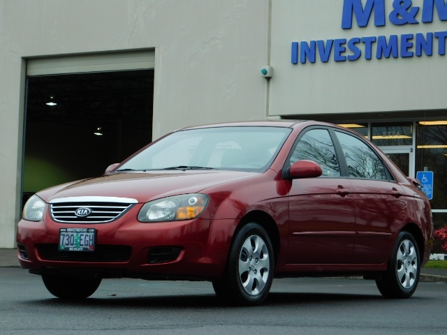 2009 Kia Spectra EX / Sedan / Auto / Sunroof / Spoiler / 1-OWNER - Photo 48 - Portland, OR 97217