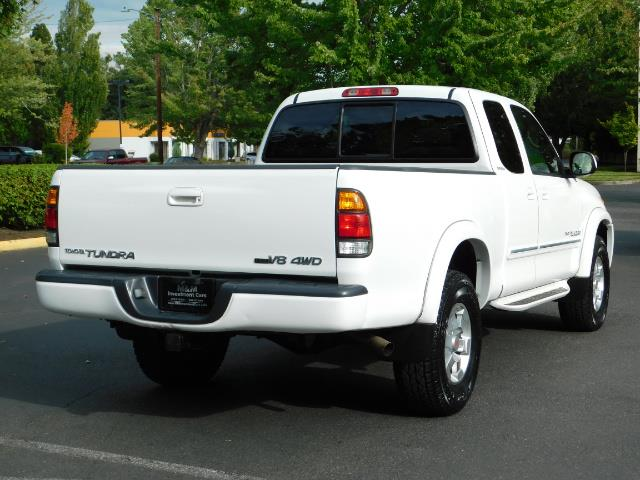 2003 Toyota Tundra Limited 4dr Access Cab Limited / 4X4 / 1-OWNER - Photo 8 - Portland, OR 97217