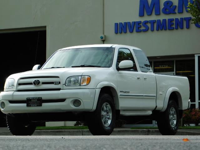 2003 Toyota Tundra Limited 4dr Access Cab Limited / 4X4 / 1-OWNER - Photo 45 - Portland, OR 97217