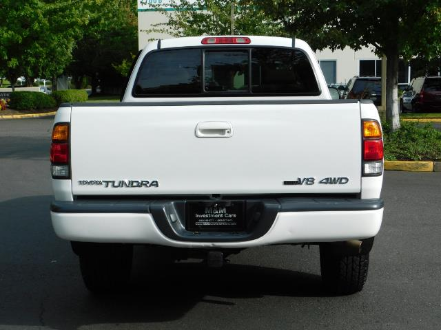 2003 Toyota Tundra Limited 4dr Access Cab Limited / 4X4 / 1-OWNER - Photo 6 - Portland, OR 97217