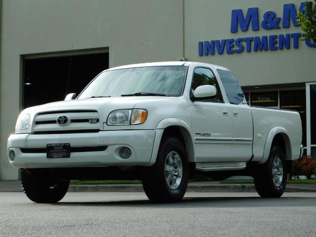 2003 Toyota Tundra Limited 4dr Access Cab Limited / 4X4 / 1-OWNER - Photo 46 - Portland, OR 97217