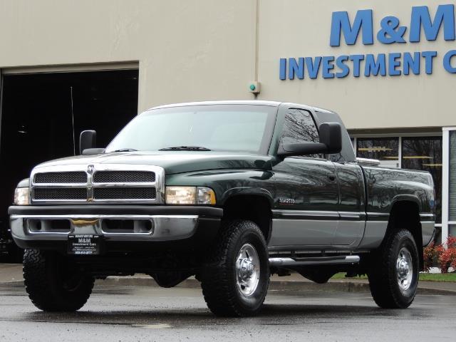 2001 Dodge Ram 2500 Quad Cab 4x4 5 9 L Cummins Diesel 102k Miles