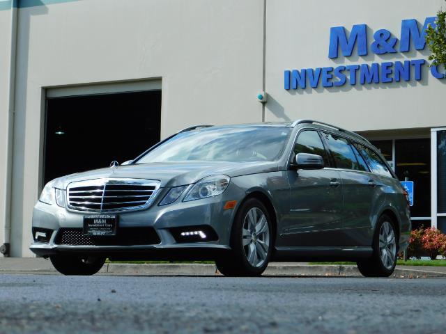 2011 Mercedes-Benz E 350 Luxury 4MATIC / Sport Wagon / REAR SEAT - Photo 44 - Portland, OR 97217