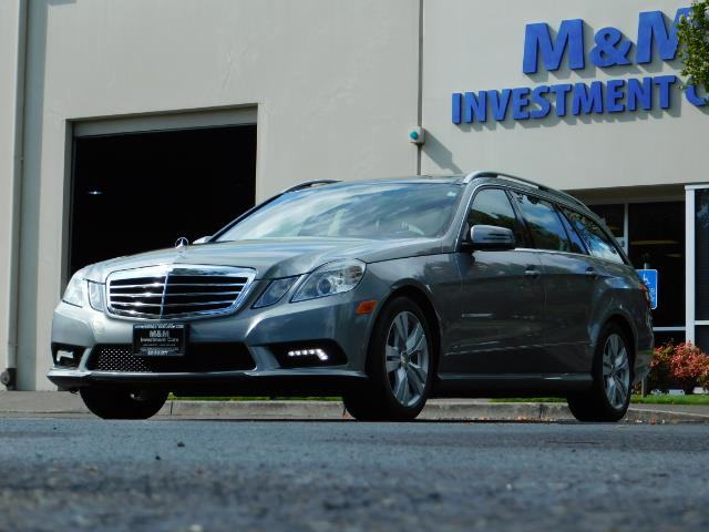 2011 Mercedes-Benz E 350 Luxury 4MATIC / Sport Wagon / REAR SEAT - Photo 45 - Portland, OR 97217