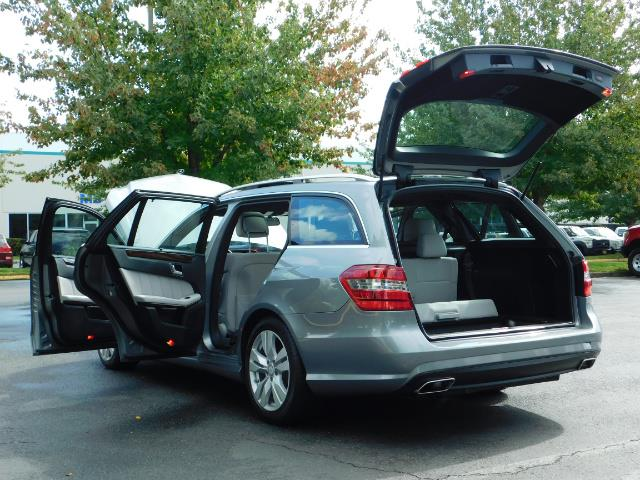 2011 Mercedes-Benz E 350 Luxury 4MATIC / Sport Wagon / REAR SEAT - Photo 27 - Portland, OR 97217