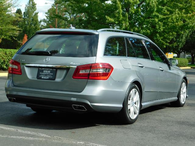 2011 Mercedes-Benz E 350 Luxury 4MATIC / Sport Wagon / REAR SEAT - Photo 8 - Portland, OR 97217