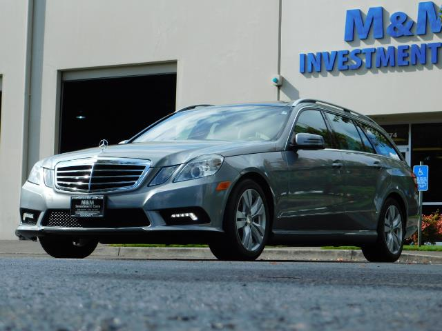 2011 Mercedes-Benz E 350 Luxury 4MATIC / Sport Wagon / REAR SEAT - Photo 43 - Portland, OR 97217