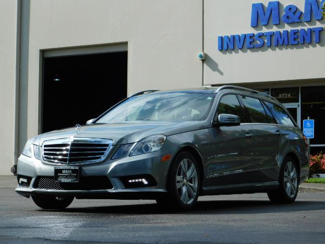 2011 Mercedes-Benz E 350 Luxury 4MATIC / Sport Wagon / REAR SEAT - Photo 1 - Portland, OR 97217