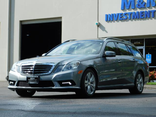2011 Mercedes-Benz E 350 Luxury 4MATIC / Sport Wagon / REAR SEAT - Photo 46 - Portland, OR 97217