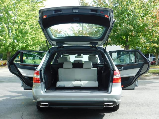 2011 Mercedes-Benz E 350 Luxury 4MATIC / Sport Wagon / REAR SEAT - Photo 28 - Portland, OR 97217