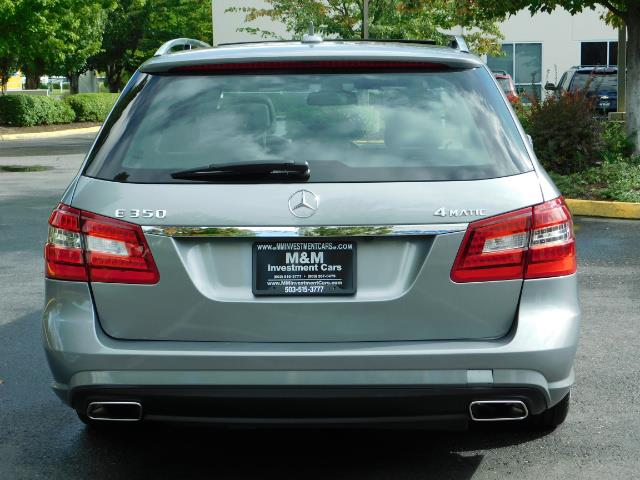 2011 Mercedes-Benz E 350 Luxury 4MATIC / Sport Wagon / REAR SEAT - Photo 6 - Portland, OR 97217