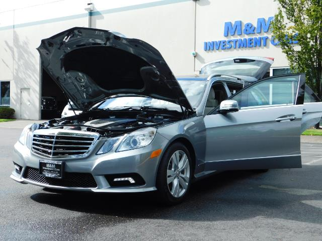2011 Mercedes-Benz E 350 Luxury 4MATIC / Sport Wagon / REAR SEAT - Photo 25 - Portland, OR 97217