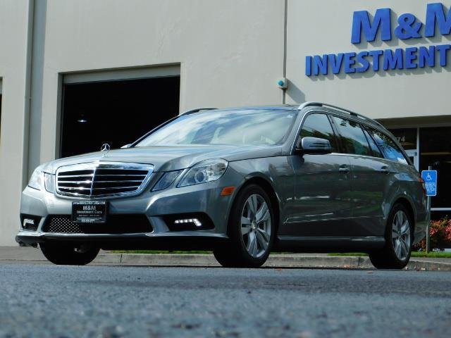 2011 Mercedes-Benz E 350 Luxury 4MATIC / Sport Wagon / REAR SEAT - Photo 42 - Portland, OR 97217