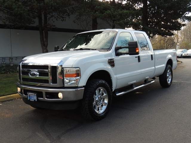 2008 Ford F 250 Lariat 4x4 Crew Cab Long Bed Turbo