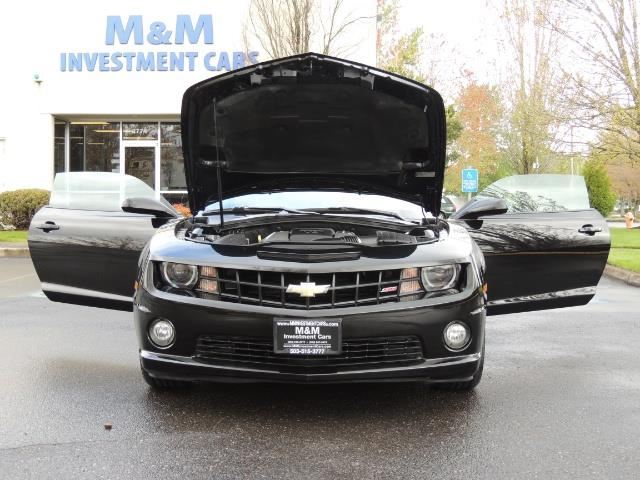 2012 Chevrolet Camaro SS / RS Package / Leather / Sunroof /Backup camera - Photo 32 - Portland, OR 97217