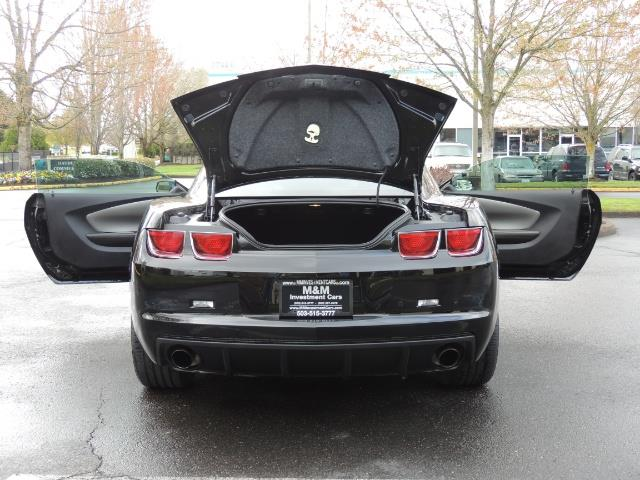 2012 Chevrolet Camaro SS / RS Package / Leather / Sunroof /Backup camera - Photo 28 - Portland, OR 97217