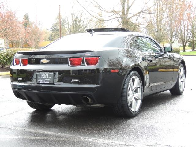 2012 Chevrolet Camaro SS / RS Package / Leather / Sunroof /Backup camera - Photo 8 - Portland, OR 97217