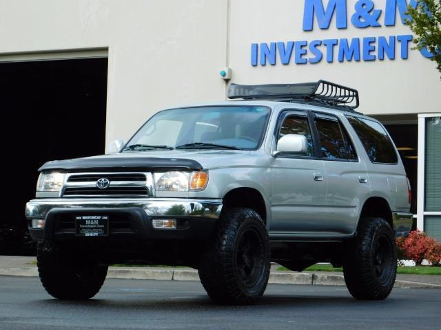 2000 Toyota 4Runner SR5 / 4WD / V6 3.4 L / Luggage Rack / LIFTED !! - Photo 41 - Portland, OR 97217