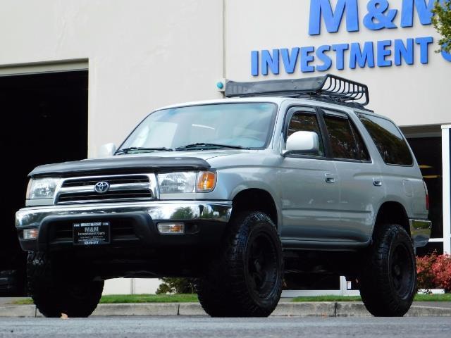 2000 Toyota 4Runner SR5 / 4WD / V6 3.4 L / Luggage Rack / LIFTED !! - Photo 43 - Portland, OR 97217