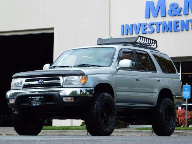 2000 Toyota 4Runner SR5 / 4WD / V6 3.4 L / Luggage Rack / LIFTED !! - Photo 42 - Portland, OR 97217