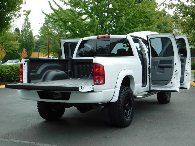 "2006 Dodge Ram 2500 Laramie 5.9L Quad Cab 4WD LIFTED / 35 ""MUD LOWMILES - Photo 28 - Portland, OR 97217"